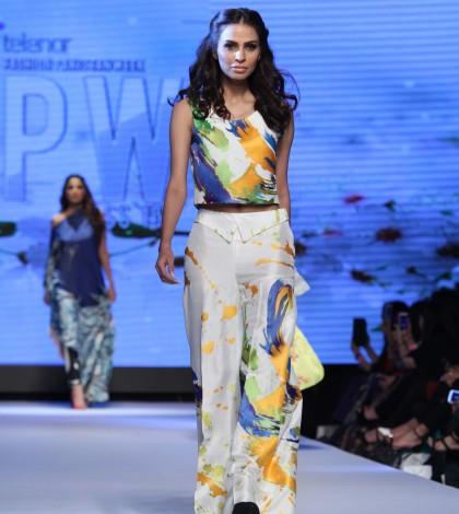 Sania Maskatiya at Telenor Fashion Pakistan Week 2015