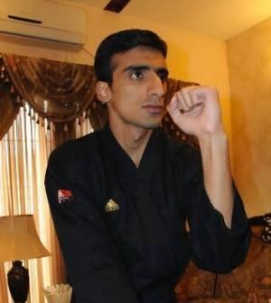 Pakistan Taekwondo black-belt Ahmad Amin Bodla 2