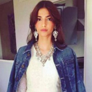 Sonam Kapoor wearing gifted Jacket from boyfriend Anand Ahuja